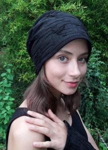 Beanie Mütze schwarz anthrazit