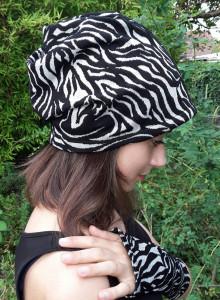 Beanie Mütze schwarz weiss
